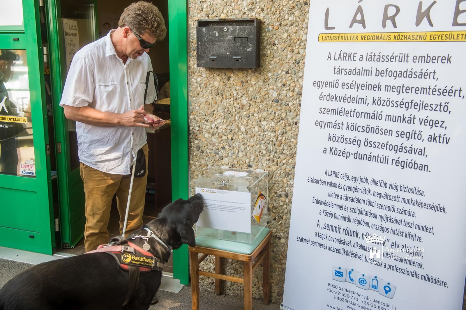 Okoseszközökkel a látássérültekért - Távszem projekt a Lárke-nél
