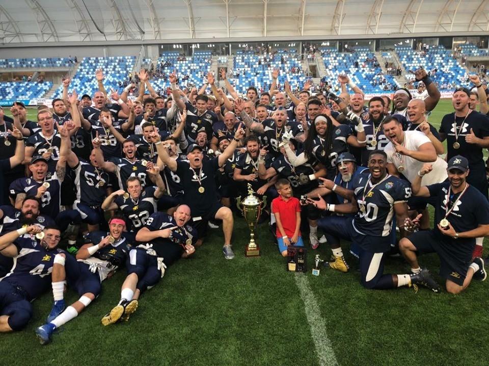 HFL - A Fehérvár Enthroners a liga győztese