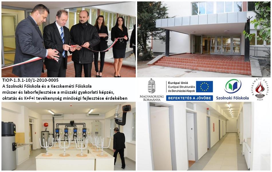 Műszaki oktatóbázissá alakították a Szolnoki Főiskola egyik épületét