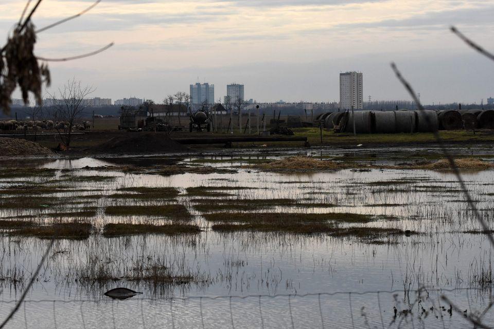 Ismét nő az elöntött terület nagysága a Közép-Tisza vidékén