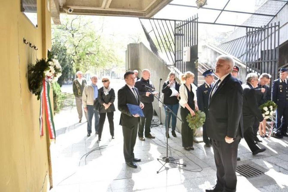 A holokauszt áldozataira emlékeztek Szolnokon