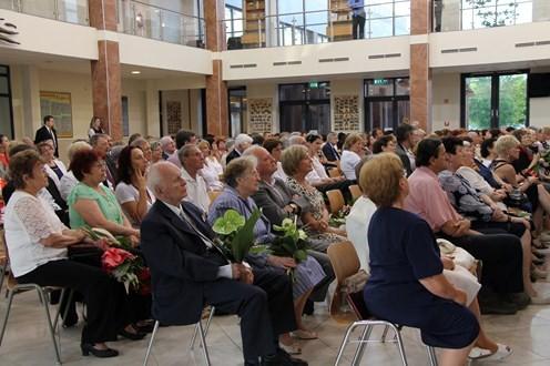 Elismeréseket adtak át a városi pedagógus napi ünnepségen
