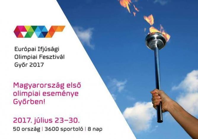 Vasárnap délelőtt érkezik Szolnokra az ifjúsági olimpiai láng