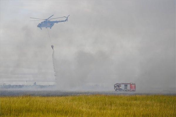 Akcióba lendült a szolnoki helikopterbázis két helikoptere