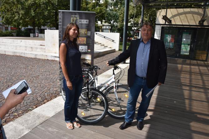 Kerékpárral vetélkedhetnek a szolnoki iskolások
