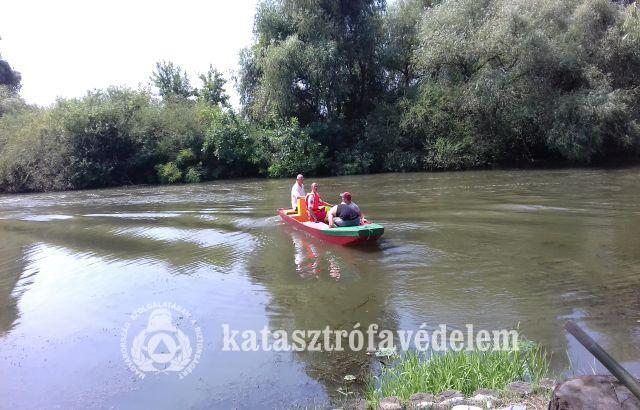 Ismét bizonyított a Tisza-tó önkéntes mentőcsoport