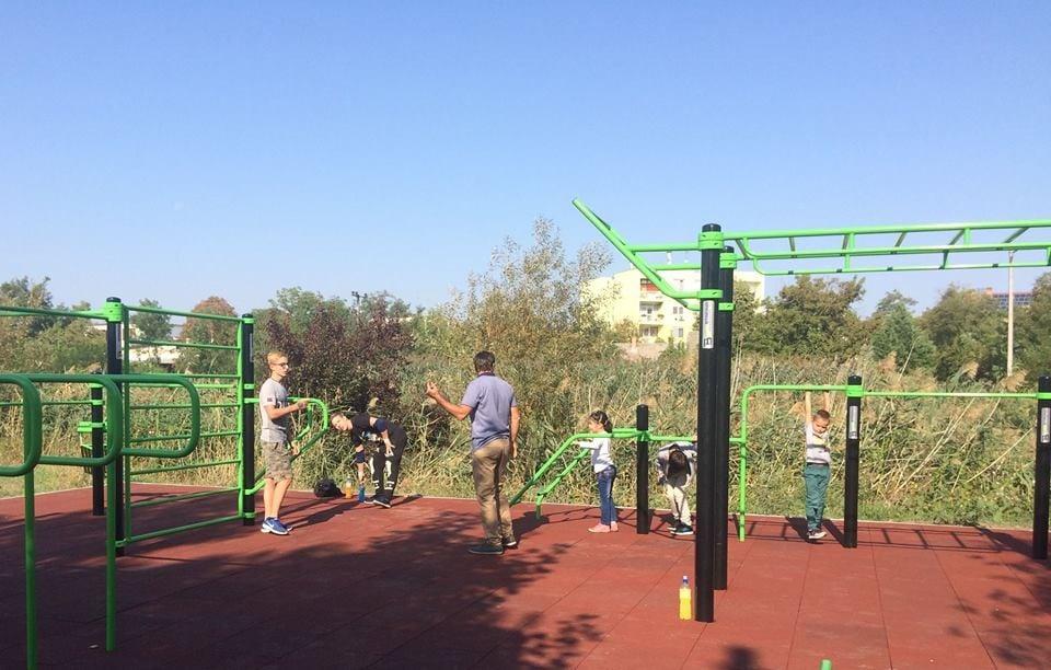 Kültéri sportpark épült Túrkevén