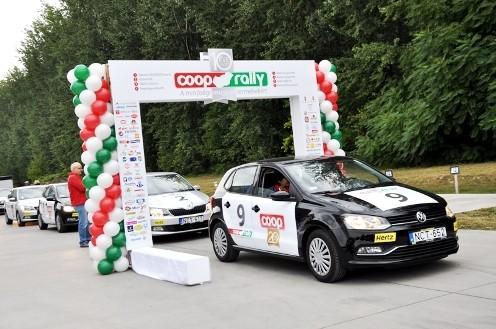 Elrajtolt a Coop Rally – A minőségi magyar termékekért száguldanak
