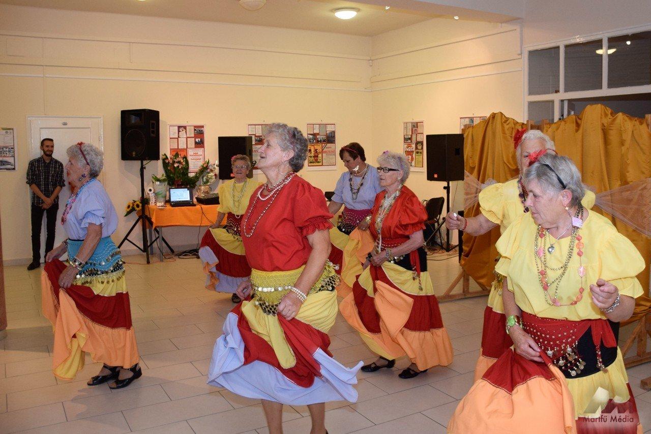 Nyugdíjas közösségek találkoztak Martfűn az idősek világnapja alkalmából