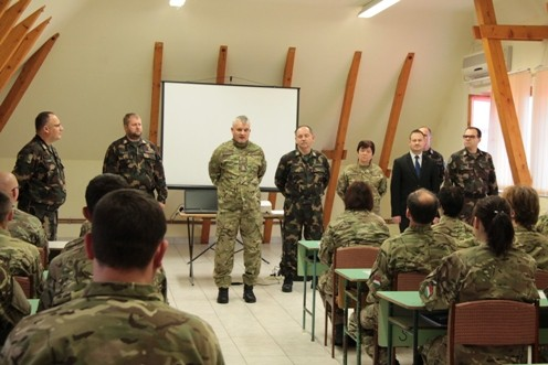 Első alkalommal képeztek önkéntes területvédelmi tartalékosokat Szolnok járásban