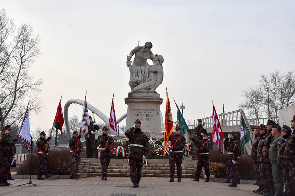 A tragikus doni ütközetre emlékeztek Szolnokon