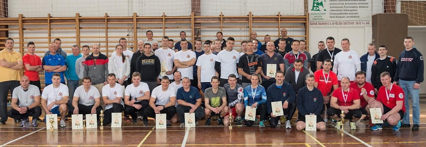 Ötvennyolc versenyző húzta az ergométert Szolnokon