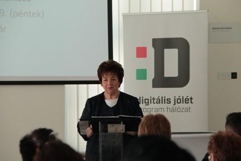 Digitális Jólét Program Hálózat Szolnok megyei mentortalálkozója