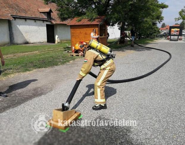 A legkeményebb tűzoltók Szolnokon vannak
