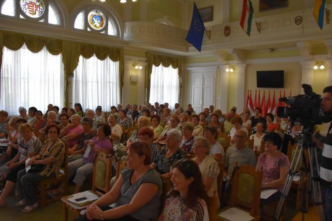 A város fejlesztéseiről tájékoztatták a szolnoki nyugdíjasokat