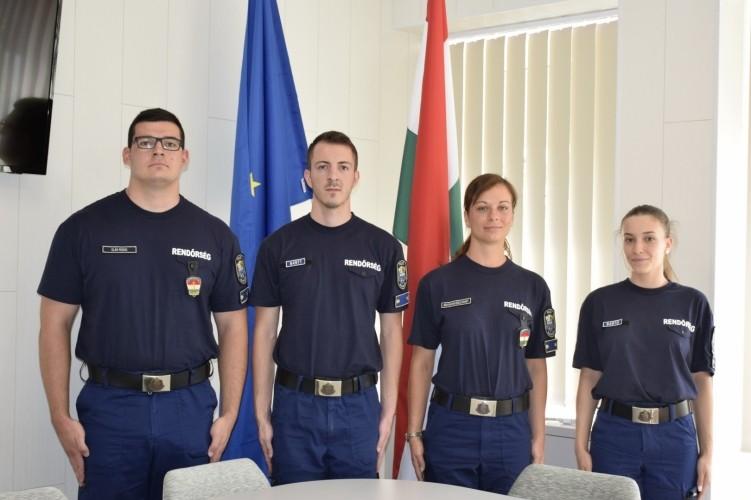 Új tiszteket avattak Jász-Nagykun-Szolnok megyében