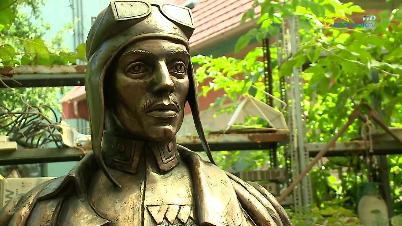 Közel 150 kg-os Ittebei Kiss József szobor készült Szolnokon