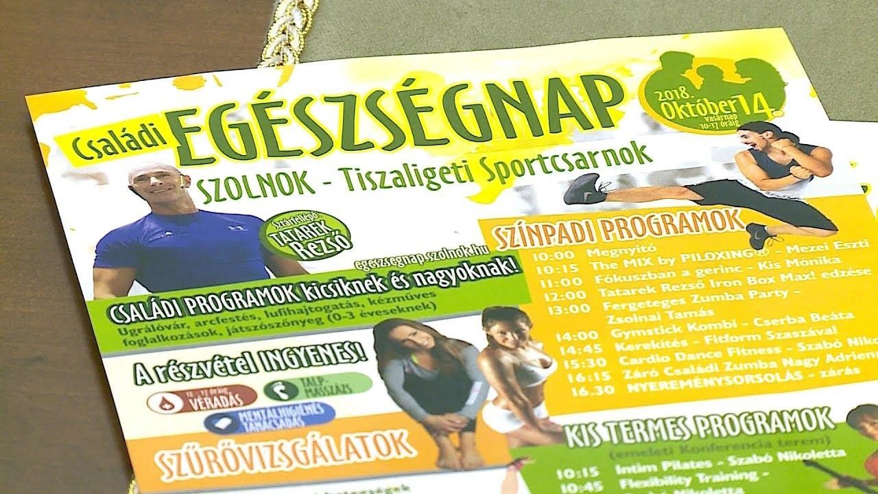 Az egészségre koncentrálnak vasárnap a Tiszaligetben