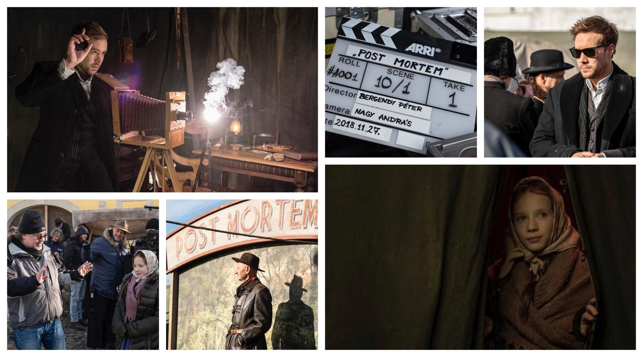 Félidejénél jár Bergendy Péter Post Mortem című filmjének forgatása