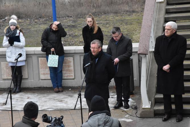 A Tisza egykori ciánszennyezésére emlékeztek Szolnokon