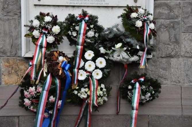 A kommunizmus áldozataira emlékeztek Szolnokon