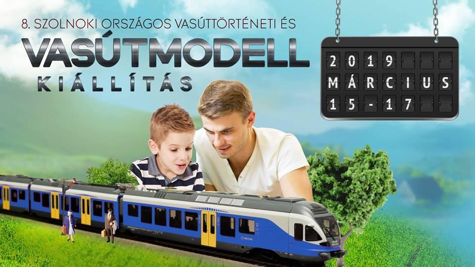 Országos vasúttörténeti és vasútmodell kiállítás három napon át Szolnokon
