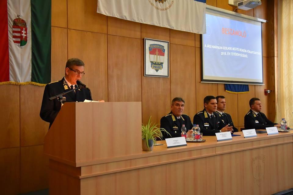 Tovább csökkent a bűncselekmények száma Jász-Nagykun-Szolnok megyében