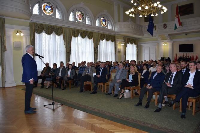 Szolnok jövőjéről beszélt Szalay Ferenc