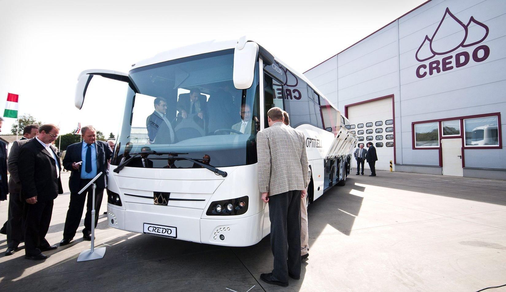 Új magyar fejlesztésű autóbusszal jelenik meg a piacon a Kravtex-Kühne Csoport