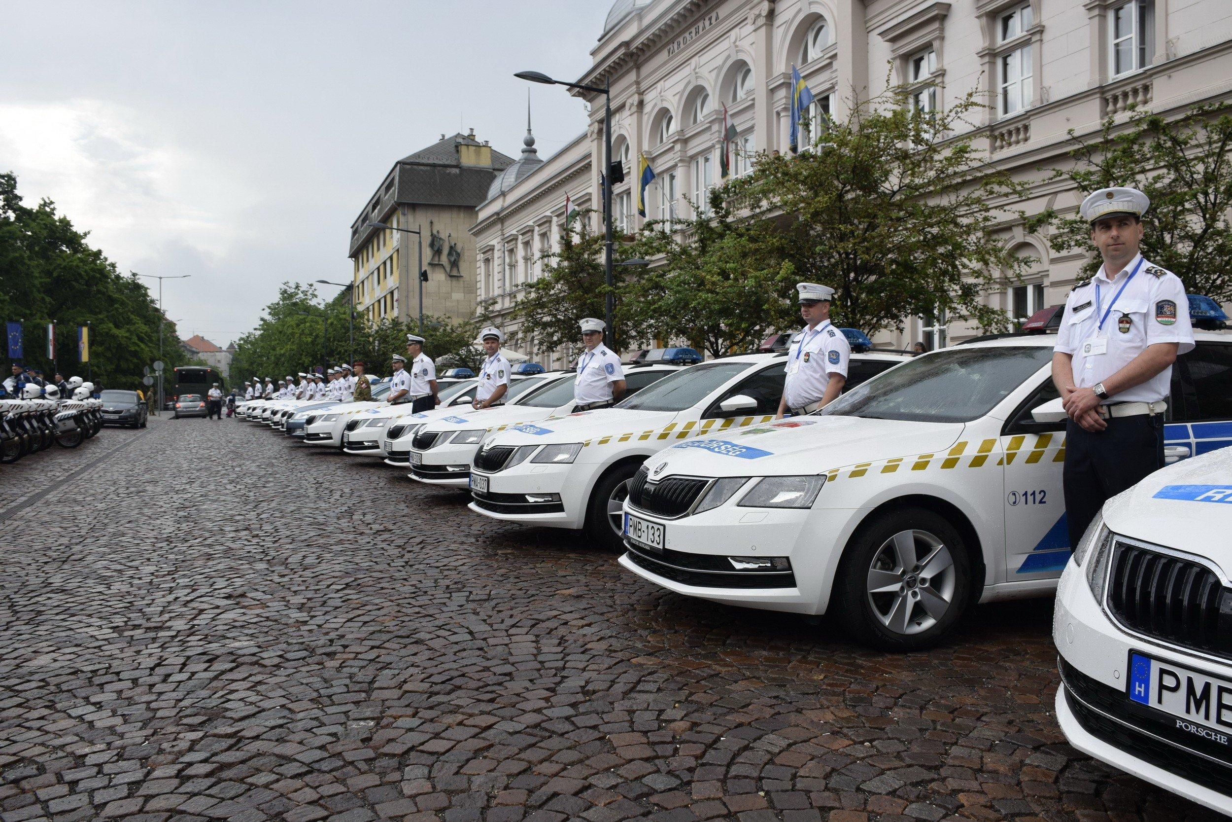 Forgalomirányításban versenyeztek a rendőrök