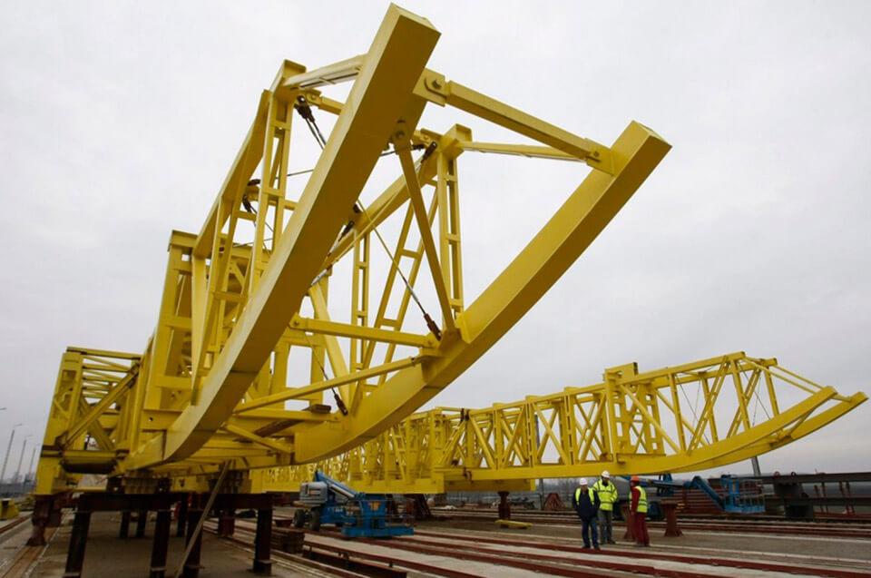 756 méter hosszú lesz az M4-es autópálya új Tisza hídja