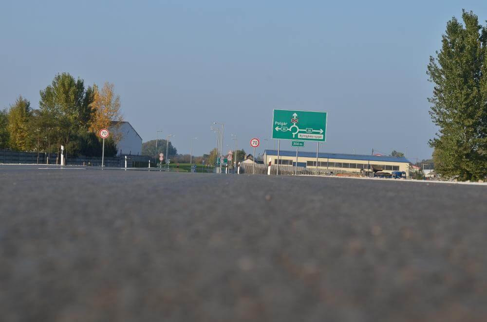 Mától gyorsabban érhetik el az autópályát a nyíregyháziak