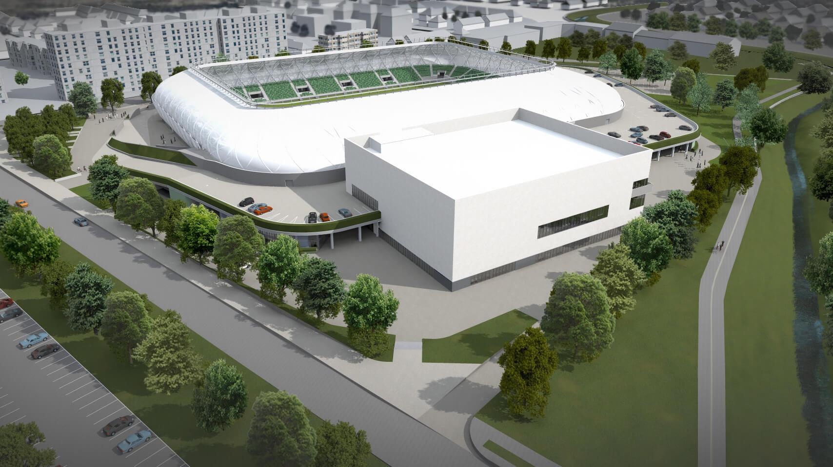 Kiderült, ki építi fel a szombathelyi sportkomplexumot