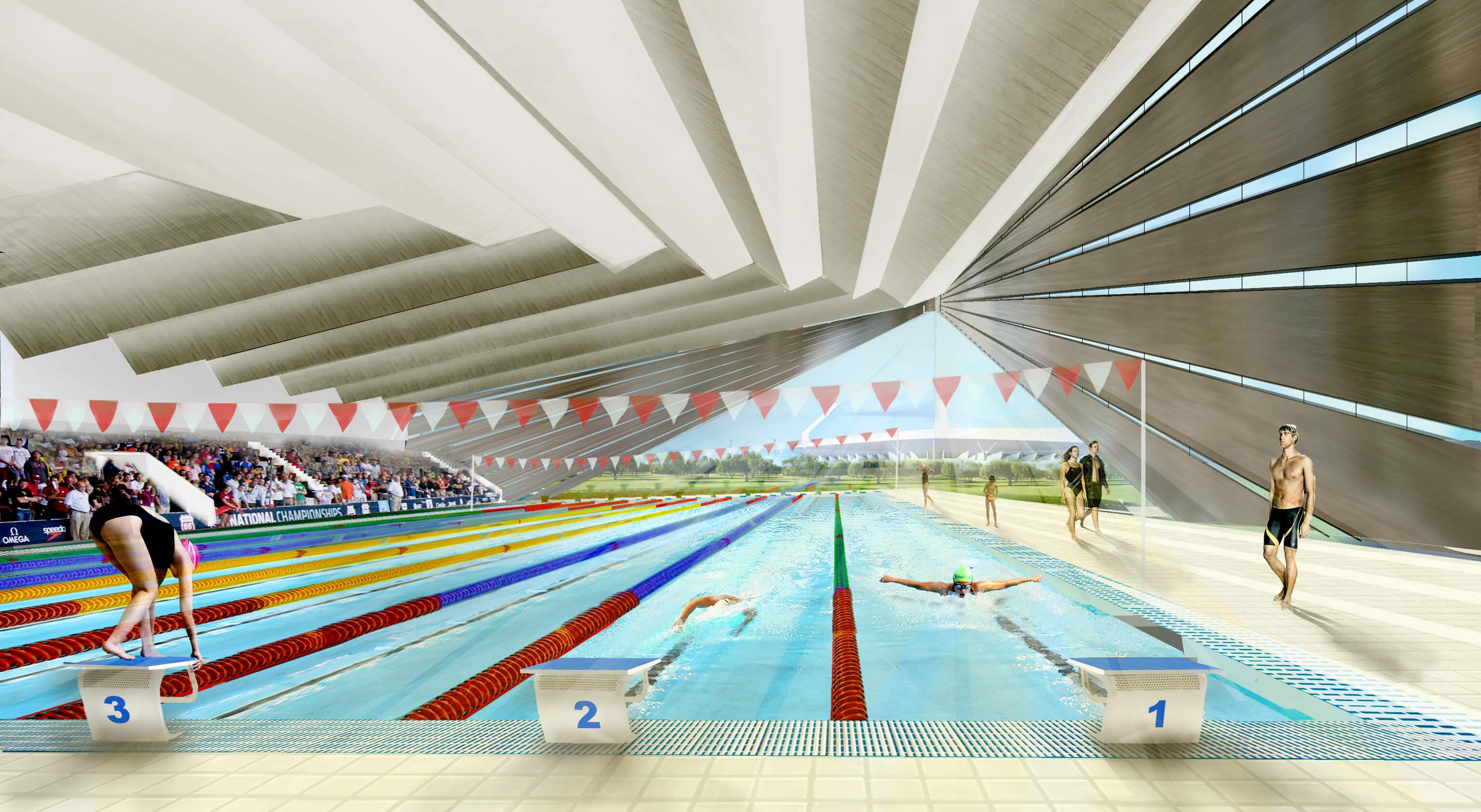 Indulhat a 11 hektáros pécsi sportközpont tervezése