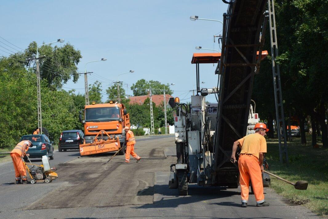 Fél év alatt 67 utcát újítanak fel Békéscsabán