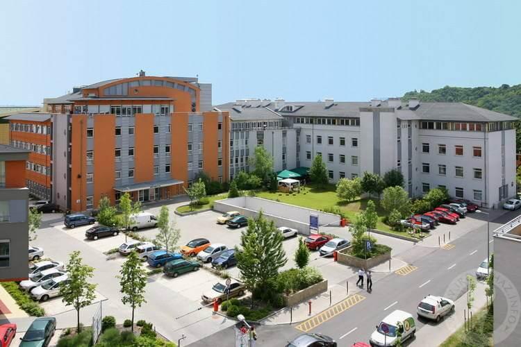 Háromhektáros irodapark épül az Árpád-híd mellett