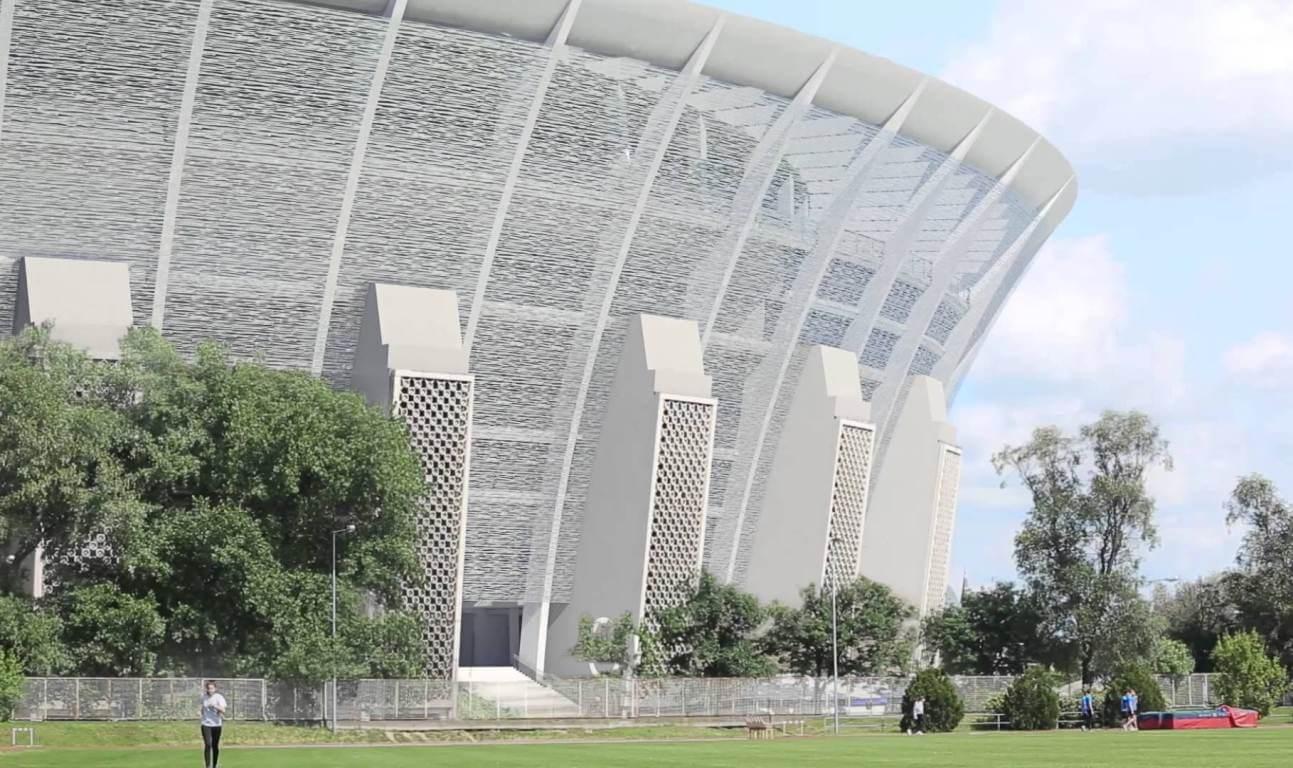 Már a vasbetonszerkezetet bontják a Puskás-stadionban