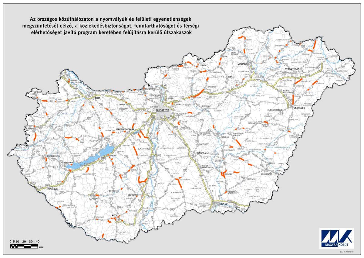 Magyar Kozut Terkep Terkep 2020