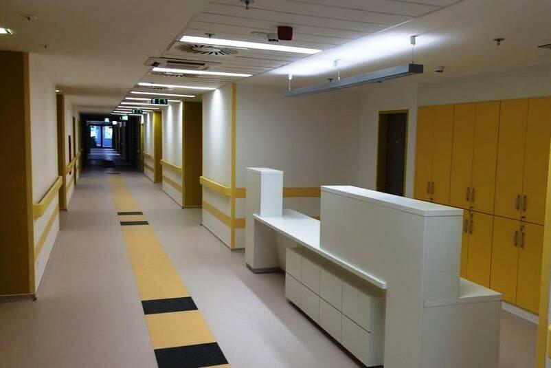 Milliárdos beruházással kapott új épületet a nyíregyházi kórház