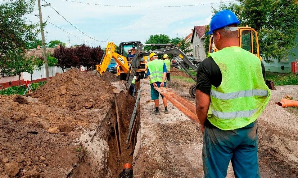 45 kilométernyi szennyvízvezetéket épít Nyugat-Magyarországon az A-Híd