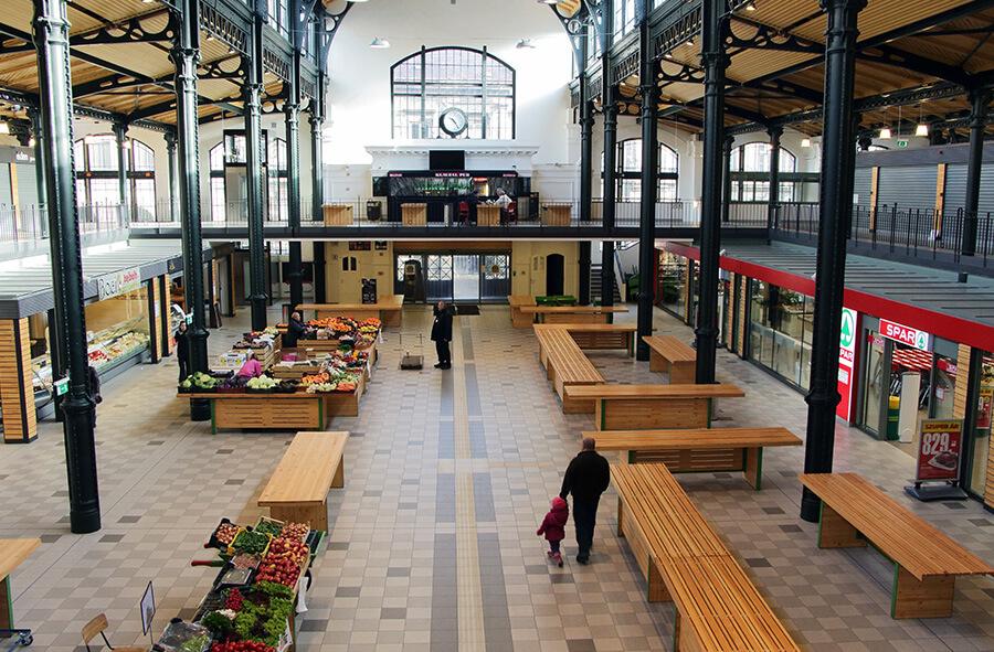 Építészeti nagydíjas a Klazuál téri vásárcsarnok