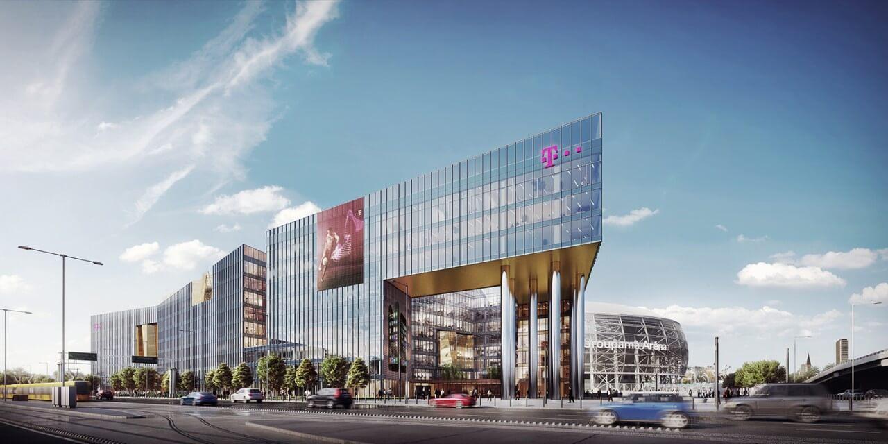 Ilyen lesz a Telekom új székháza