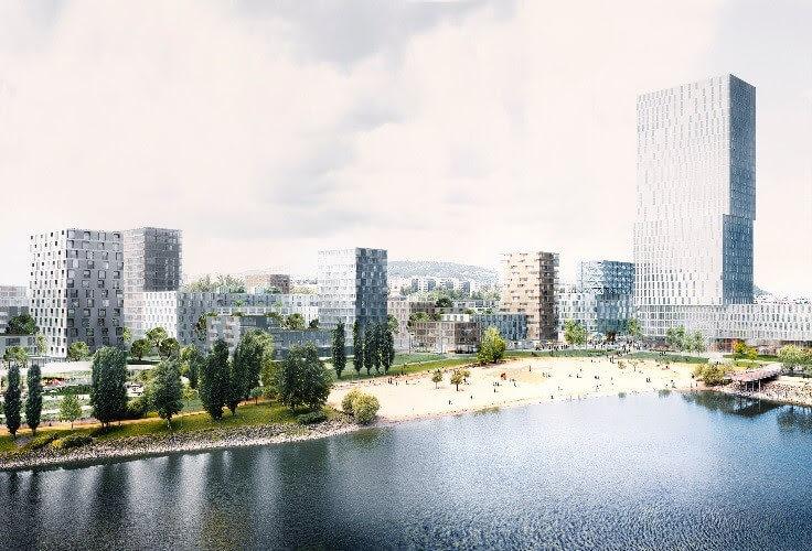 Már idén építeni kezdik a BudaPartot, íme az új látványterv