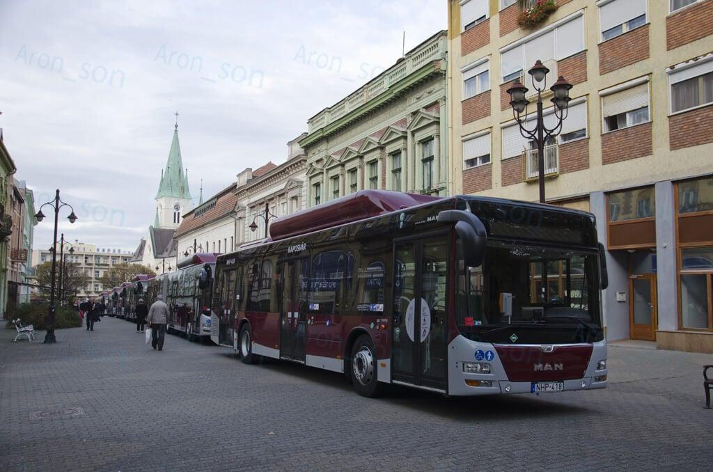 Autóbusz-telephely létesül Kaposváron