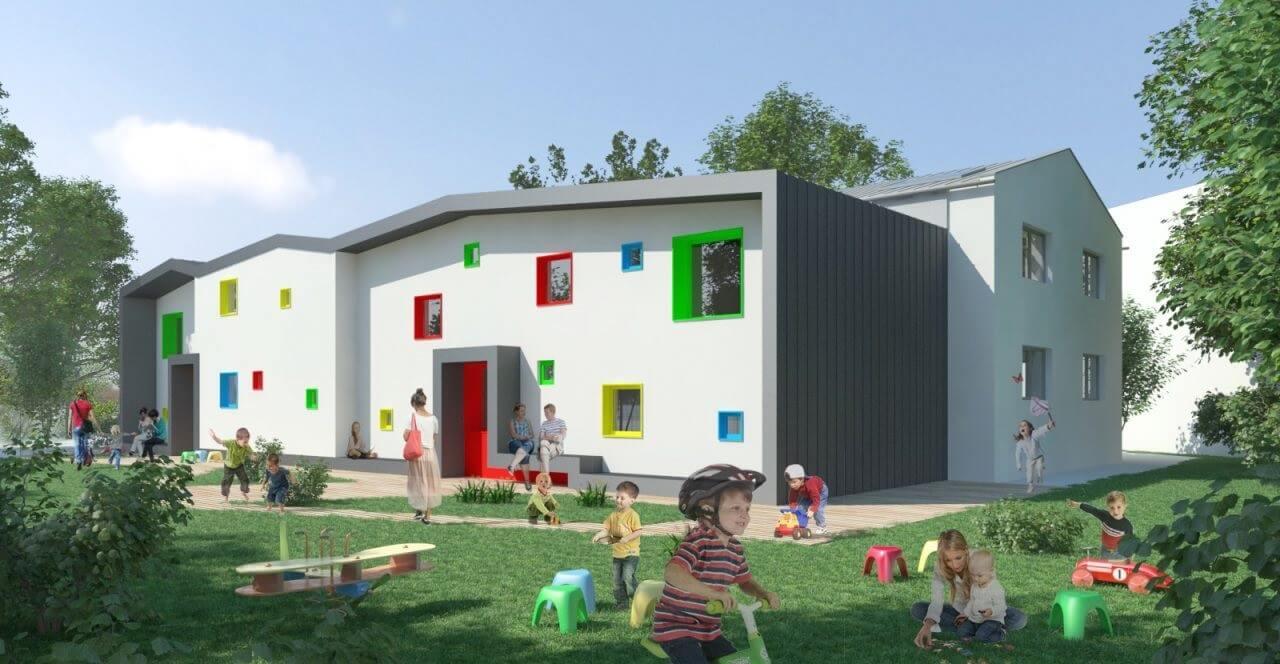 Down szindrómás gyerekek fejlődését segíti az ablakgyártó cég
