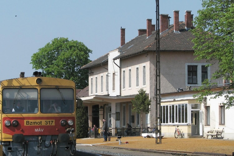 A tapolcai vasútállomást is elérte a MÁV fejlesztési projektje