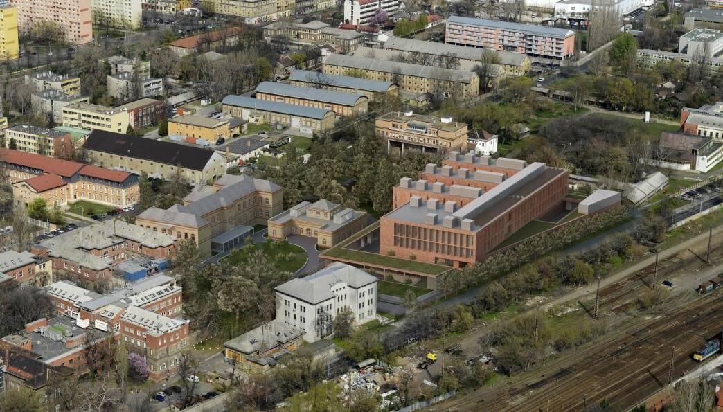 Ilyen lesz a 37 ezer négyzetméteres Múzeumi Restaurálási Központ