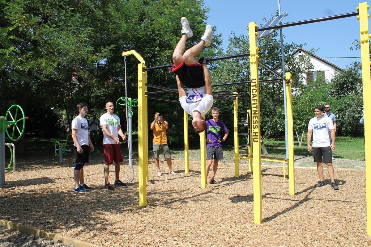 Kültéri fitneszparkot nyert a lakosság voksai alapján Rákosmente