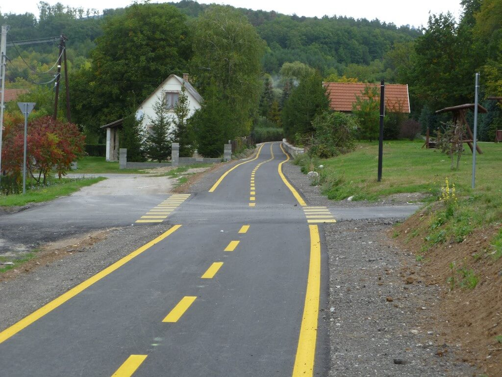 19 hevesi településen javul a kerékpárosok helyzete