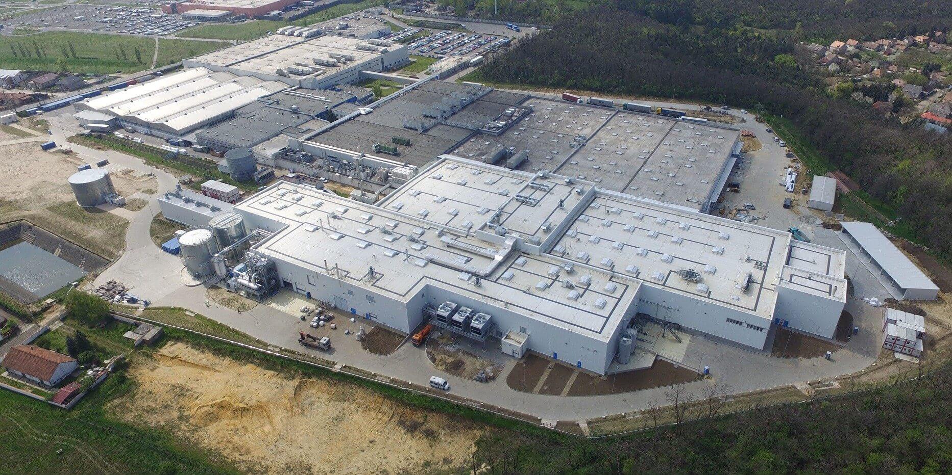 A P&G 55 milliárd forintból fejleszti gyöngyösi és csömöri gyárait
